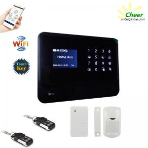 Cheer GS-WGG01 Wi-Fi+GSM+GPRS home alarm system English/ Spanish